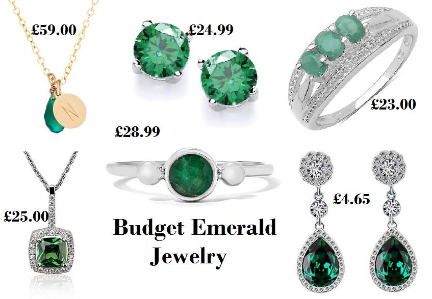 Emerald Jewelry on a Budget