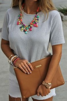 How to Choose the Perfect Jewelry for Every Occasion - adding contrast