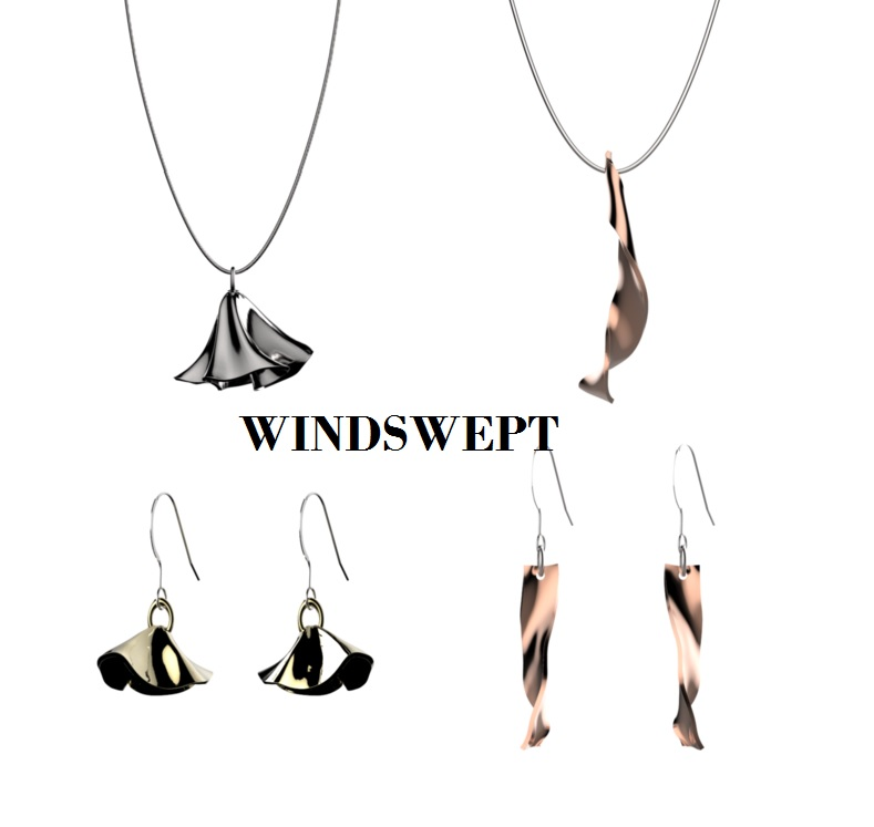 Innovative Jewelry created by the wind