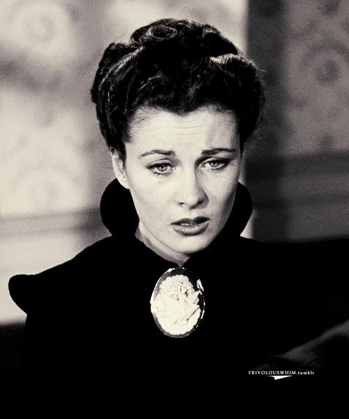Jewelry in Film - Cameo Brooch Gone with the Wind