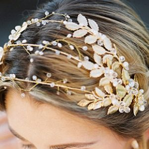 Leaf Statement Hair Piece