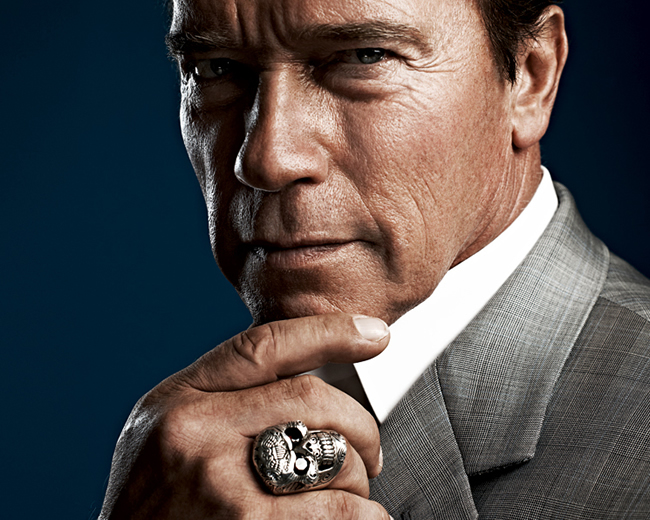 Men Jewelry Trends - Arnold and the skull ring
