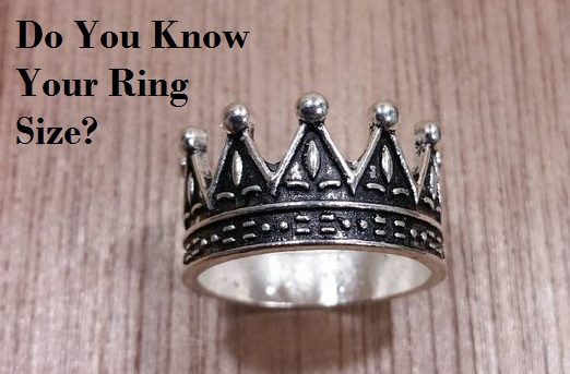 Buying Jewelry Online Ring Sizes