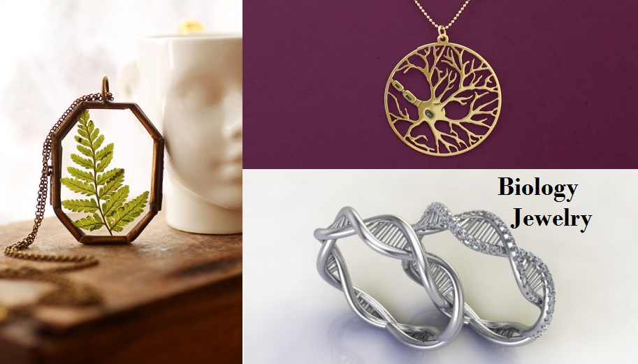 Science Jewelry for Biology Lovers