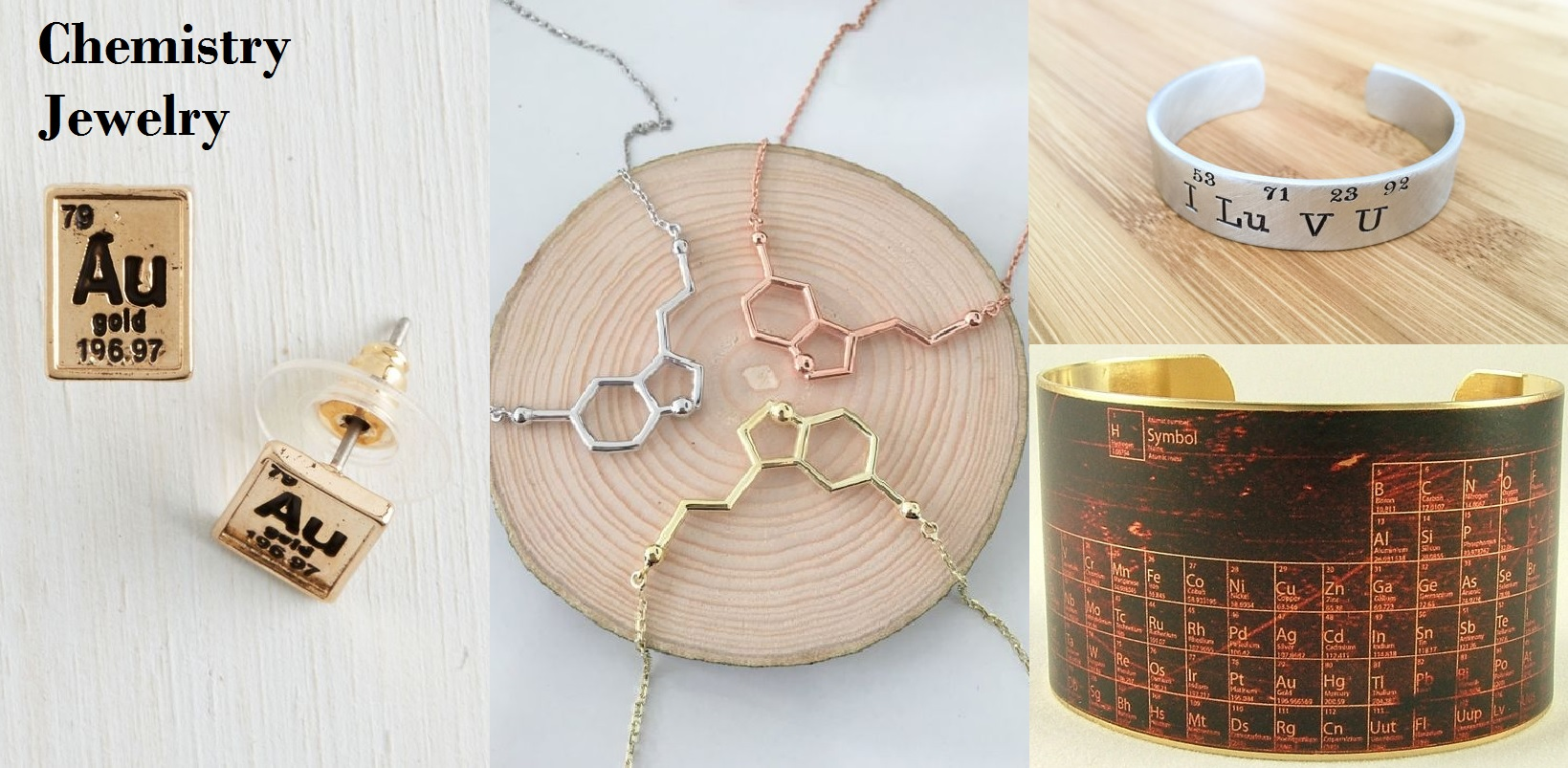 Science Jewelry for Chemistry Lovers