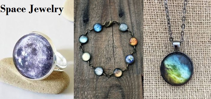 Science Jewelry for Space Lovers