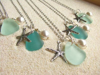 Beach Jewelry made from Sea Glass