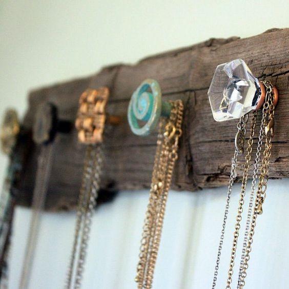 Interesting Ways to Store Jewelry