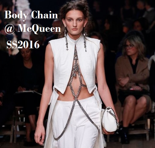 Body Chain Jewelry Trend 2016