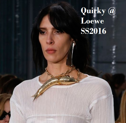 Jewelry Trends for Summer 2016 - Quirky Jewlery