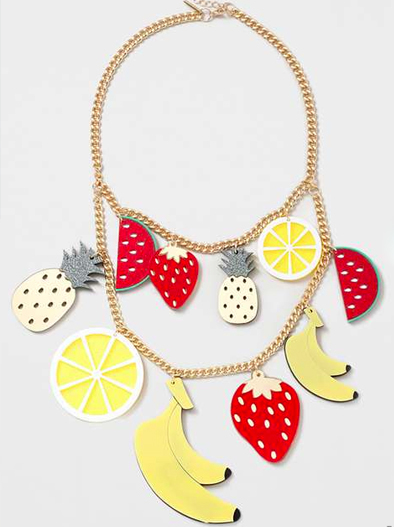 Statement Fruit Jewelry