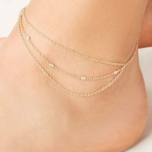 ankle bracelets - summer 2016 trends