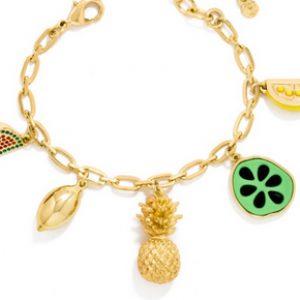 Charm Bracelet Fruit Jewelry