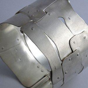 Industrial Metal Cuff