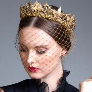 Crown Statement Hair Piece