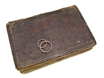 wedding ring history - early christian wedding rings