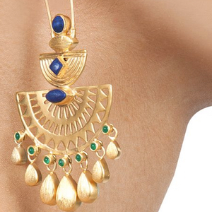 Egyptian Jewelry Statement Earring