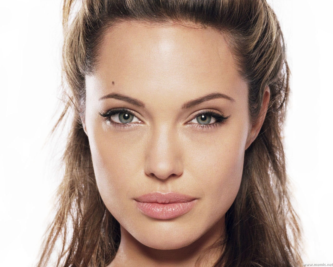 Matching Jewelry With Your Face Shape - Angelina Jolie