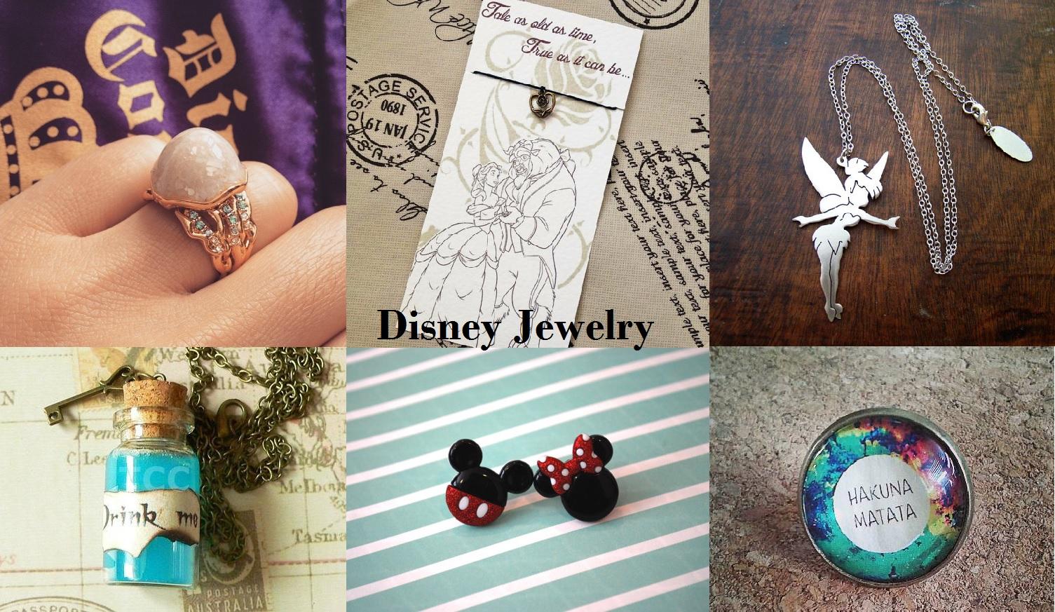 Disney Movie Inspired Jewelry