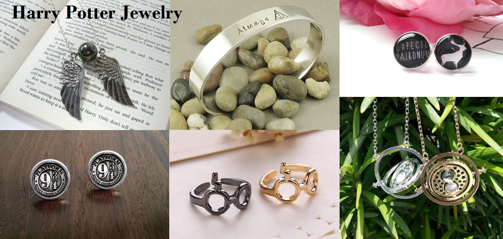 Harry Potter Movie Inspired Jewelry