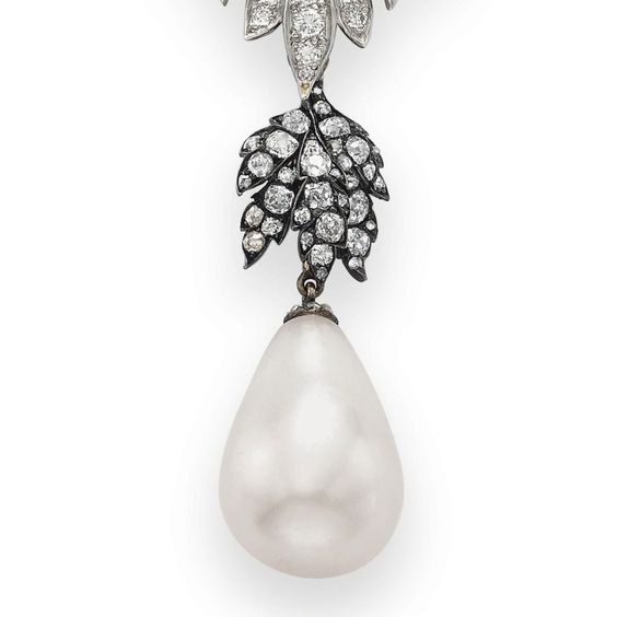 La Pelegrina Pearl Necklace - Record Breaking Jewelry
