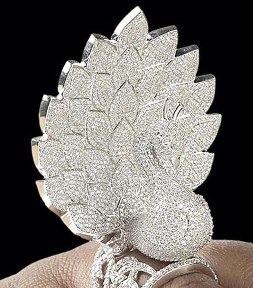 Savio Peacock Ring - Record Breaking Jewelry