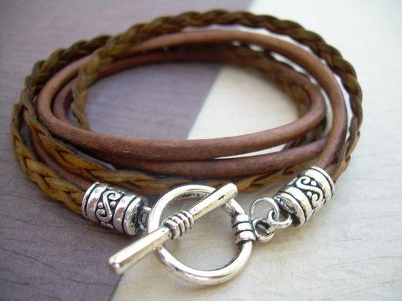 LEather Bracelet - Unisex jewelry