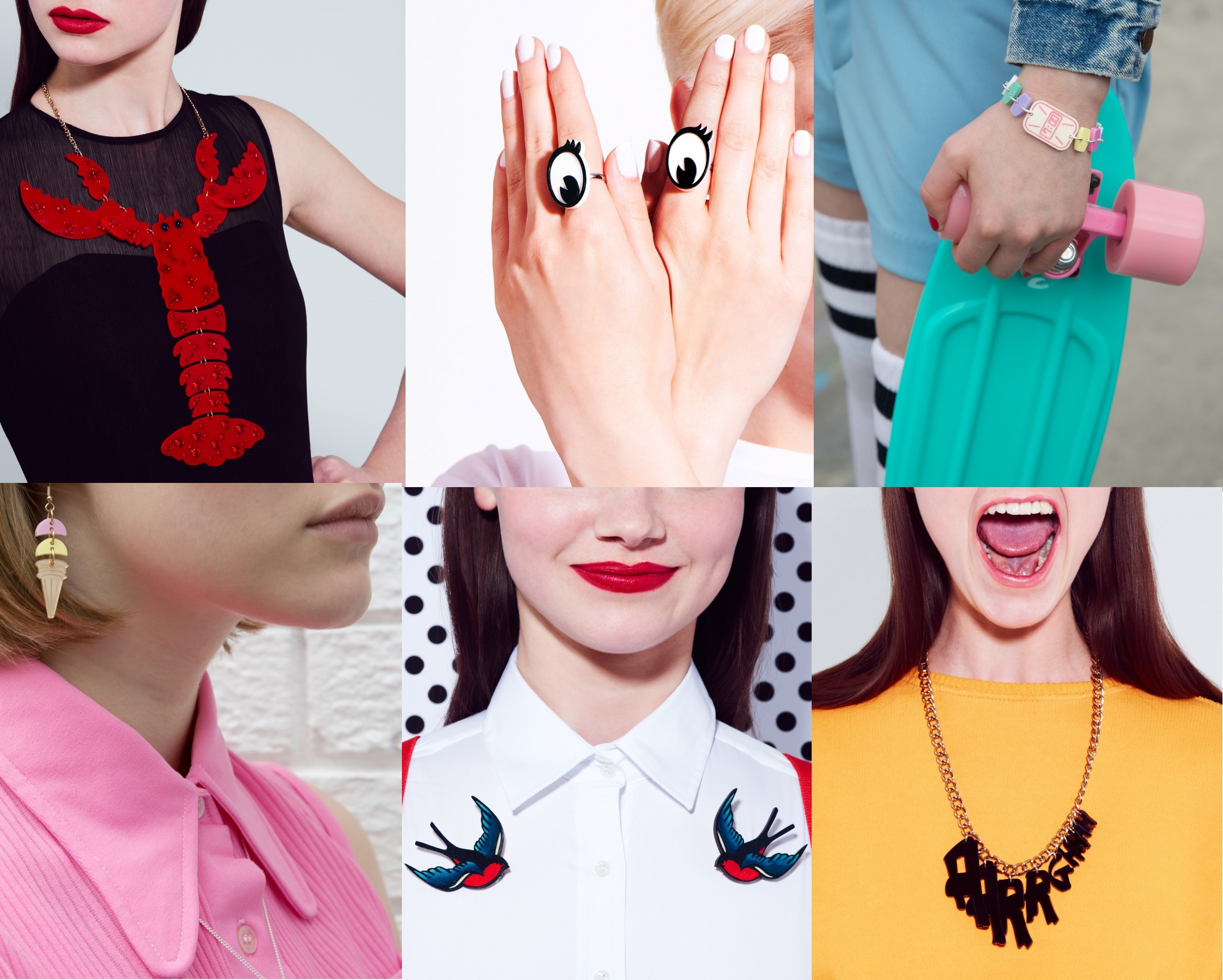 Tatty Devine Acrylic Jewelry Brand