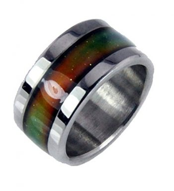 S16 Stainless Steel Mood Ring