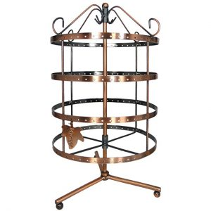 92 pairs Copper Color Earring Holder