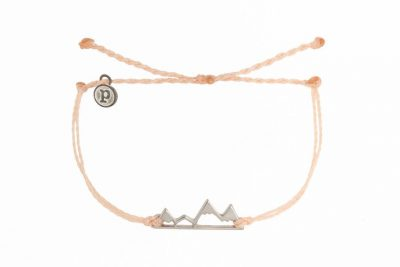 Pura Vida Silver Mountain Blush Bracelet