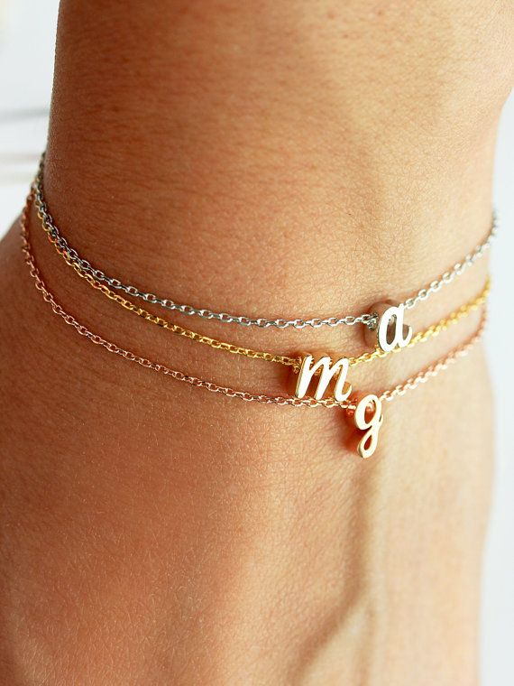 Initital bracelets