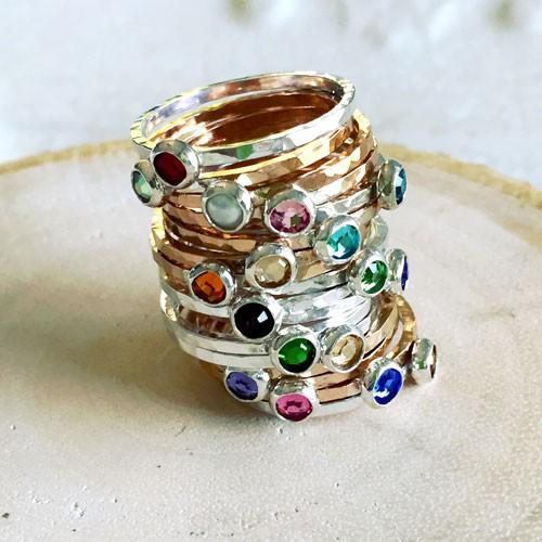 gold-silver-birthstone-rings2