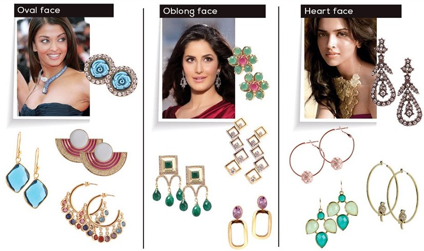 jewelry and face shape