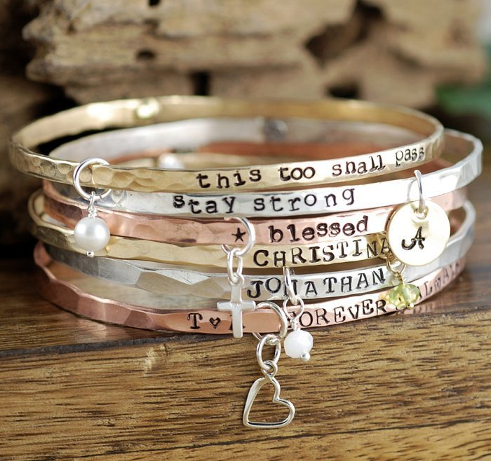 Top 10 Personalized Bracelets For S Jewelry Jealousy