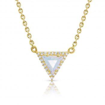 14kt Gold Vermeil Moonstone Necklace - Iconic Delta