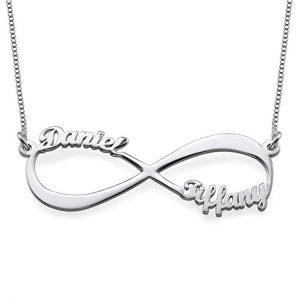 5. Personalized Couple Infinity Pendant