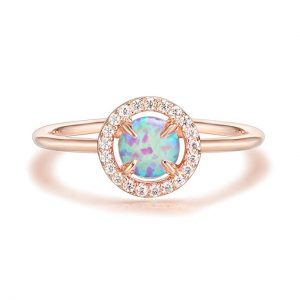 October Stone - PAVOI 14K Gold Plated Opal