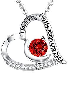 Elda & Co Necklace Infinity Heart Peridot Pendant
