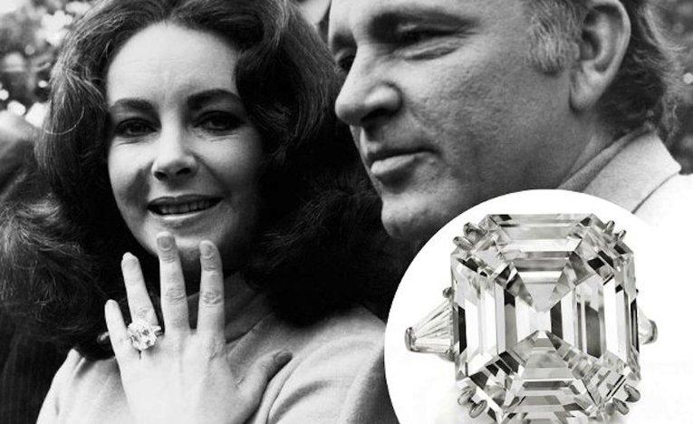 Humphrey Bogart and Elizabeth Taylor
