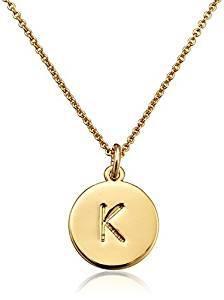 Kate Spade New York Gold-Tone Alphabet Pendant Necklace