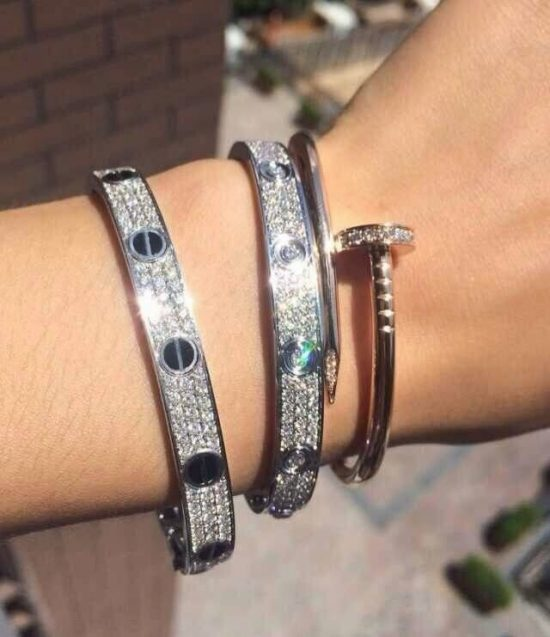 61dd4f964a2e We Found Affordable Dupes for the Love Bracelet!