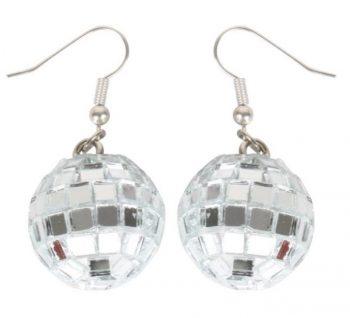disco ball earring