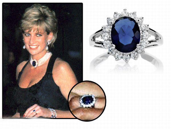 lady diana sapphire