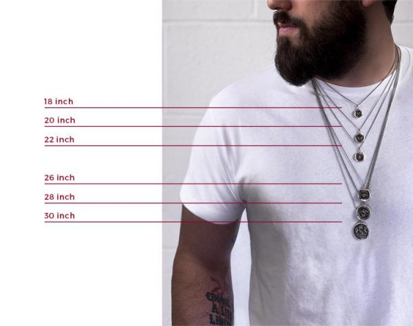 Necklace Size Chart Choosing The Right Lengths Jewelry Jealousy