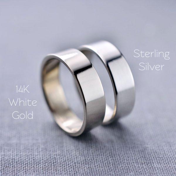 white gold vs sterling silver