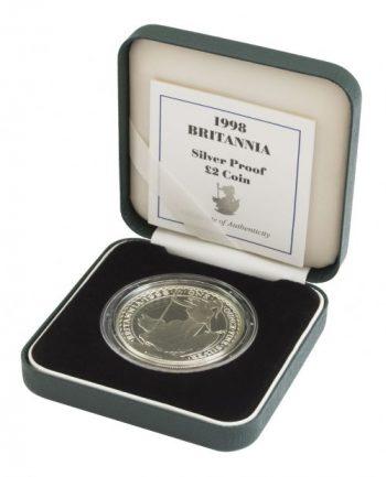 Britannia silver coin