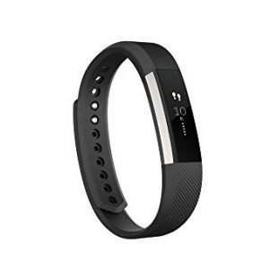 Fitbit Alta Smart Fitness Activity Tracker, Slim Wearable Water Resistant and Sleep Monitor, Wireless Bluetooth Pedometer Wristband for Android and iOS, Step Counte