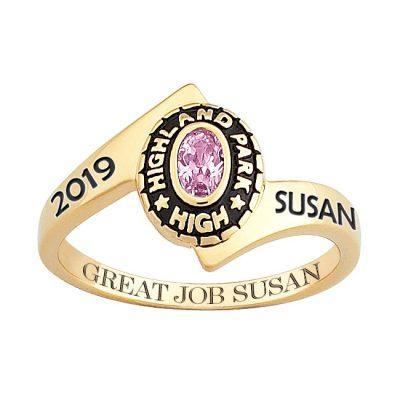 graduation ring message