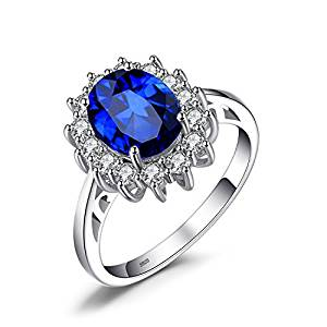 Jewelry Palace 3.2 ct Ring 926 sterling silver